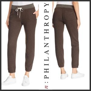 n:PHILANTHROPY Distressed Joggers Pants Small NWT